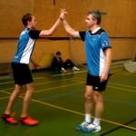 Vítězné gesto Jindra a Michal